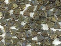 Triangle 6mm Sapphire - Copper Picasso - 5 g