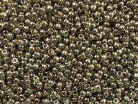 TOHO Round 11o-204 Gold-Lustered Montana Blue - 100 g
