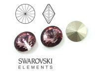 Rivoli Swarovski 12 mm Crystal Antique Pink F - 1 sztuka