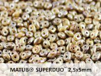 SuperDuo 2.5x5mm Opaque White - Rembrandt - 10 g