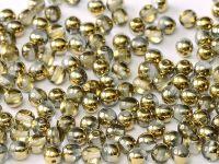 Round Beads Gold 1/2 6 mm - 20 sztuk