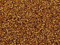 Miyuki Delica DB1833 Duracoat Galvanized Yellow Gold - 5 g