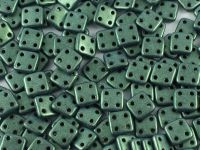 QuadraTile 6mm Metallic Suede Green - 5 g