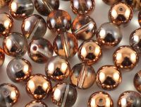 Round Beads Apollo Gold 8 mm - 10 sztuk