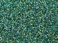 Miyuki Delica DB0175 Transp. Dark Green AB - 5 g