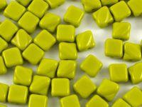 Silky Beads 6mm Opaque Olivine - 20 sztuk