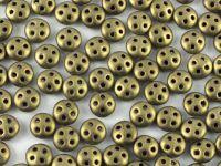 QuadraLentil 6mm Metallic Suede Gold - 5 g
