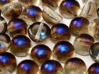 Dome Bead Crystal Azuro 10x6mm - 1 sztuka