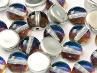 Dome Bead Crystal Bermuda Blue 10x6mm - 1 sztuka