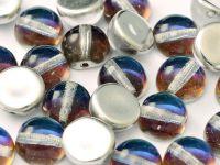 Dome Bead Crystal Bermuda Blue 10x6mm - 1 sztuka