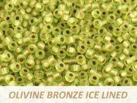 Matubo 8o Olivine Bronze Ice Lined - 100 g