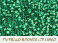 Matubo 8o Emerald Bronze Ice Lined - 10 g