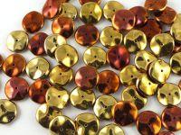 Ripple 12mm Crystal California Gold Rush - 5 sztuk