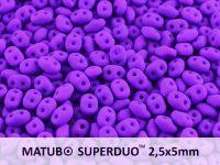 SuperDuo 2.5x5mm Neon Dark Purple - 10 g