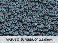 SuperDuo 2.5x5mm Polychrome - Indigo Orchid - 10 g