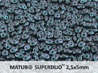 SuperDuo 2.5x5mm Polychrome - Indigo Orchid - 100 g