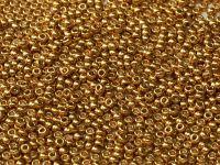 Miyuki Round 11o-4202 Duracoat Galvanized Gold - 10 g