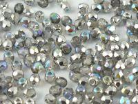 FP 3mm Crystal Silver Rainbow - 40 sztuk