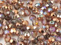 FP 4mm Crystal Copper Rainbow - 40 sztuk