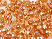 FP 4mm Crystal Orange Rainbow - 40 sztuk