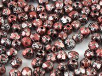 FP 4mm Metallic Marble Red - 40 sztuk