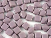Silky Beads 6mm Opaque Lt Purple - 20 sztuk
