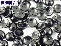 Piggy Beads Jet 8x4 mm - 20 sztuk