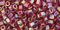 TOHO Hex 8o-165C Trans-Rainbow Ruby - 10 g