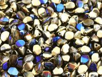 Pinch Beads Crystal California Blue 5x3 mm - 5 g