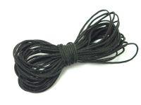 Sznurek ozdobny czarny 1 mm - 3 m