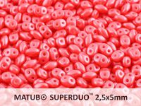 SuperDuo 2.5x5mm Pearl Shine Rose - 10 g