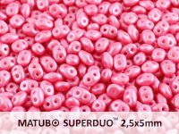 SuperDuo 2.5x5mm Pearl Shine Light Pink - 10 g