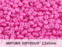 SuperDuo 2.5x5mm Pearl Shine Light Fuchsia - 10 g