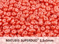 SuperDuo 2.5x5mm Pearl Shine Light Coral - 10 g