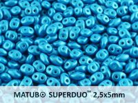 SuperDuo 2.5x5mm Pearl Shine Azuro - 10 g