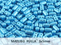 Rulla 3x5mm Pastel Blue Turquoise - 10 g