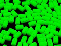 Rulla 3x5mm Neon Green - 10 g
