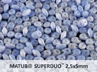 SuperDuo 2.5x5mm Opal Blue - 10 g
