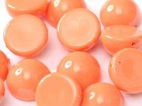 Dome Bead Fiesta Peach Coral 10x6mm - 1 sztuka
