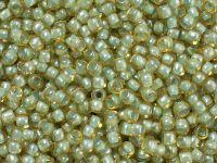 TOHO Round 8o-1848 Inside-Color Rainbow Blue Mint - 10 g