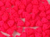 Triangle 6mm Neon Pink - 5 g