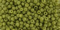 TOHO Round 11o-2601F Semi Glazed - Olive - 10 g