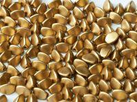 Pinch Beads Matte Metallic Flax 5x3 mm - 50 g