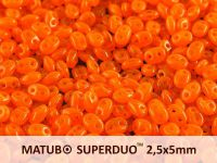 SuperDuo 2.5x5mm Opal Orange - 10 g