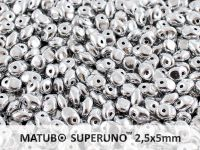 SuperUno 2.5x5mm Silver - 100 g