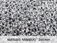 miniDUO 2x4mm Crystal - 5 g