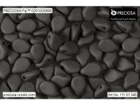PIP 7x5mm Grey Silk Mat - 20 sztuk