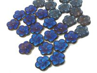 Flowers Crystal Azuro 1/2 (t) 14 mm - 2 sztuki