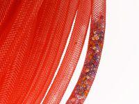 Siatka jubilerska czerwona 8 mm - 1 metr