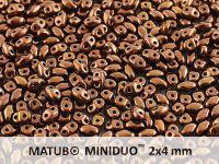 miniDUO 2x4mm Dark Bronze - 5 g